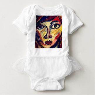 Body Para Bebê A cara da mulher abstrata