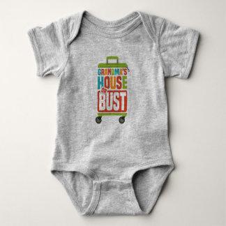 Body Para Bebê A casa da avó ou o Bodysuit do BUSTO