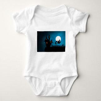 Body Para Bebê A casa da bruxa do Dia das Bruxas Helloween a