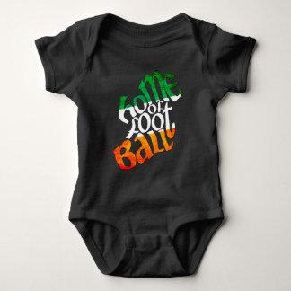 Body Para Bebê A casa de Ireland do bebê gaélico do futebol