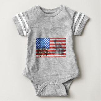 Body Para Bebê A casa do escritório do patriota personaliza