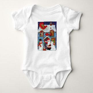 Body Para Bebê A casa do papai noel