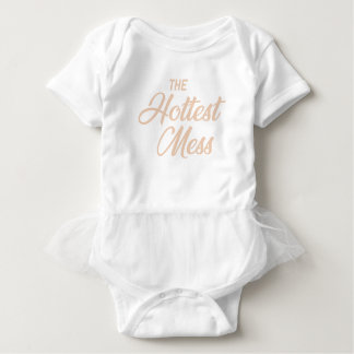 Body Para Bebê A confusão a mais quente