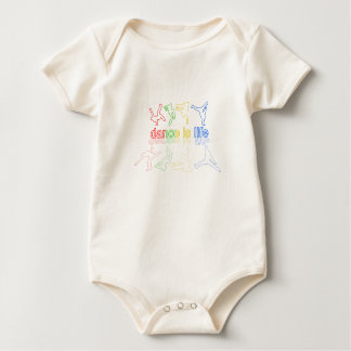 Body Para Bebê A dança é vida