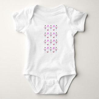 Body Para Bebê a dança gosta de ninguém a roupa do bebê de