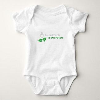 Body Para Bebê A energia verde é o futuro