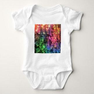 Body Para Bebê A extremidade do abstrato do arco-íris