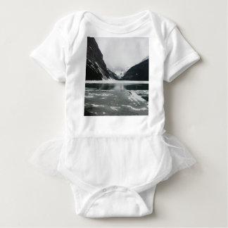 Body Para Bebê A extremidade do inverno, Lake Louise