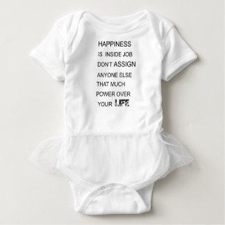 Body Para Bebê a felicidade está no trabalho interno não atribui