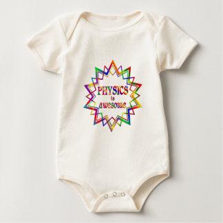Body Para Bebê A física é impressionante