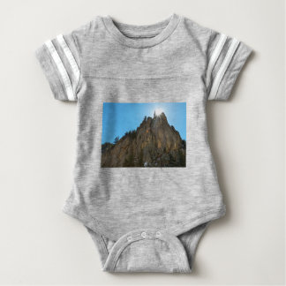 Body Para Bebê A garganta de Boulder reduz o pináculo