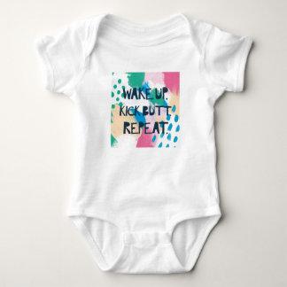 Body Para Bebê A inspiração brilhante IV | acorda a repetição do