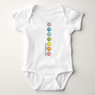 Body Para Bebê A ioga fala o bebê: Todo o bebê Chakras