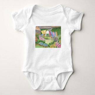 Body Para Bebê A lavanderia de Kathy em Monhegan é mim terno do