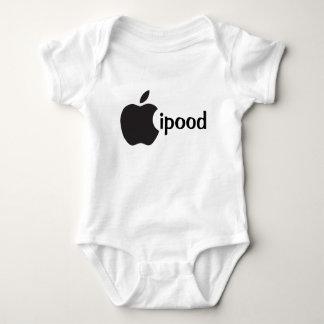 Body Para Bebê a maçã do ipood inspirou o onsie bonito do bebê,