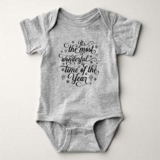Body Para Bebê A maioria de hora maravilhosa do Bodysuit do
