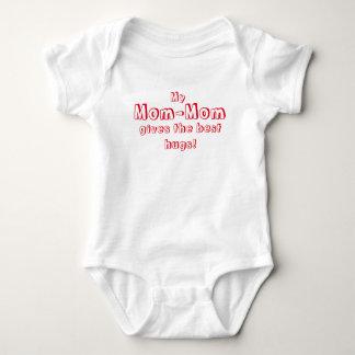 Body Para Bebê A Mamã-Mamã dá os melhores abraços!