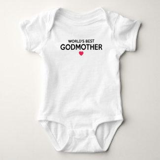 Body Para Bebê A melhor madrinha do mundo - batismo recém-nascido