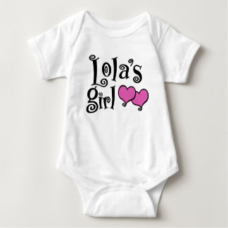Body Para Bebê A menina de Lola