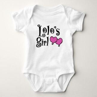 Body Para Bebê A menina de Lolo