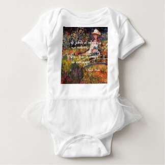 Body Para Bebê A natureza no art. de Monet