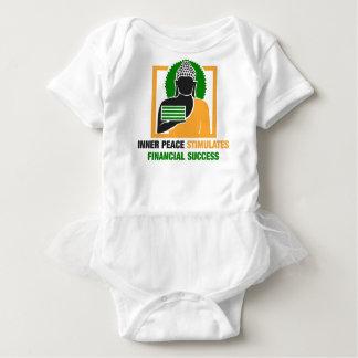 Body Para Bebê A paz interna estimula o sucesso financeiro