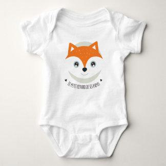 Body Para Bebê A pequena raposa das suas papás
