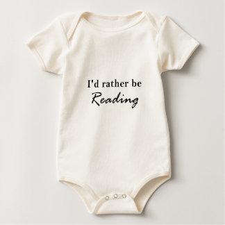 Body Para Bebê A preferencialmente da identificação esteja lendo