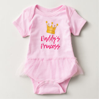 Body Para Bebê A princesa Tutu Bodysuit do pai