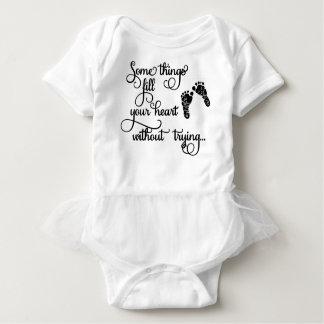 Body Para Bebê A roupa das crianças com pegadas