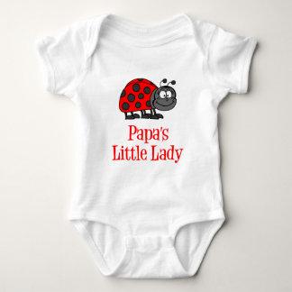 Body Para Bebê A senhora pequena da papá