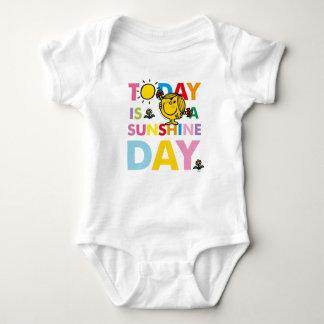 Body Para Bebê A senhorita pequena Luz do sol | é hoje um dia da