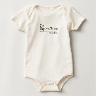 Body Para Bebê A sesta não tomada