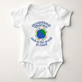 Body Para Bebê A terapia ocupacional faz o mundo ir circularmente