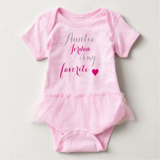 Body Para Bebê A tia favorita do bebê