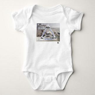 Body Para Bebê A trindade santamente