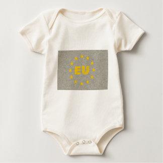 Body Para Bebê A UE concreta embandeira