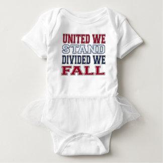 Body Para Bebê A união faz a força t-shirt e presente