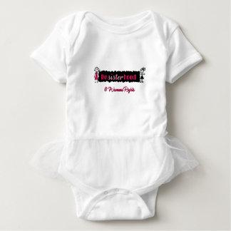 Body Para Bebê A vara figura os direitos das mulheres de