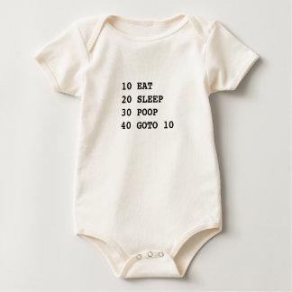 Body Para Bebê A vida é BASIC orgânico
