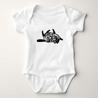 Body Para Bebê A vida é melhor com tipografia do divertimento dos