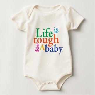 Body Para Bebê A vida é resistente para um bebê