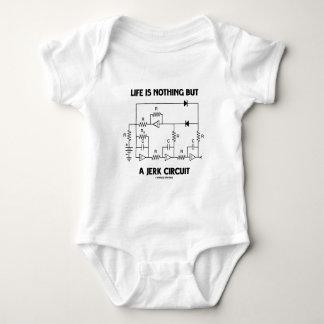 Body Para Bebê A vida não é nada mas um circuito do empurrão (o
