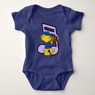 Body Para Bebê A zaragata musical de Ferald!