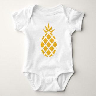 Body Para Bebê abacaxi, fruta, logotipo, comida, tropical,