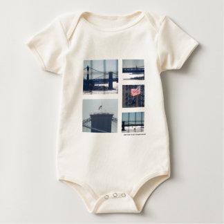 Body Para Bebê Abaixe a fotografia da foto da zona leste (1) New