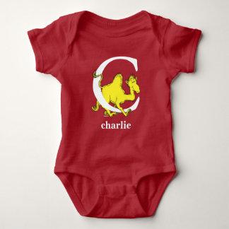 Body Para Bebê ABC do Dr. Seuss: Letra C - O branco | adiciona
