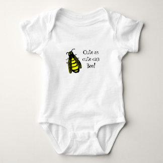 Body Para Bebê Abelha bonito da abelha do bebê com texto do
