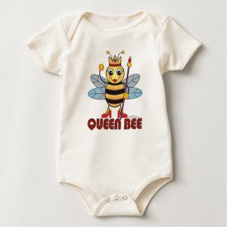 Body Para Bebê Abelha de rainha orgânica