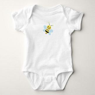 Body Para Bebê Abelha feliz com o Romper traseiro do bebê do